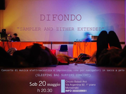 354. Difondo - sampler and zither extended - Live al Baladi Monserrato
