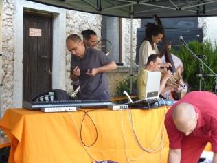 Difondo - soundcheck - Live in Portobeseno Festival 15.06.13 (Sergio Camedda - sampler)