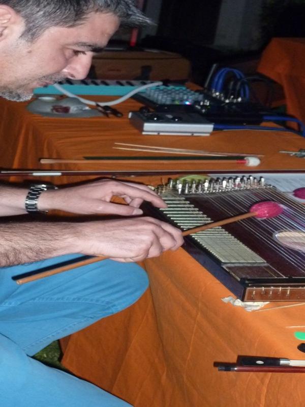 Difondo - Live in Portobeseno Festival 15.06.13 (Giampaolo Campus - zither)