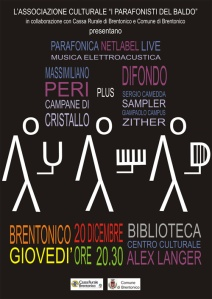 123 b. Difondo - Live in Brentonico 20.12.2012 - Close Up - flyer