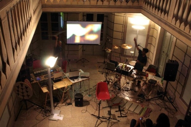 Live in Brentonico 03.07.12 - (plastic tubes)