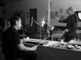 172. Difondo & Sergio Decarli - Giampaolo Campus zither - Live Impact Hub Trento