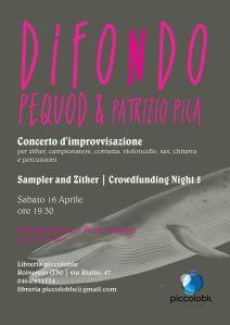 289. Difondo + Pequod & Pica (locandina piccoloblu) - Rovereto 16.04.16